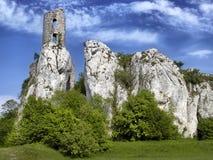 Ruínas velhas do castelo Foto de Stock Royalty Free