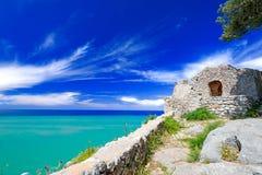 Ruínas velhas em Cefalu Imagens de Stock