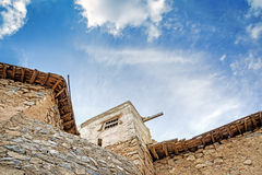 Ruínas Wadi Bani Habib Fotografia de Stock Royalty Free