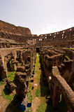 Ruïne binnen Colosseum Royalty-vrije Stock Afbeelding