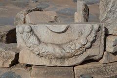 Ruïne in de Oude Stad van Ephesus Stock Afbeeldingen