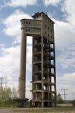 Ruïne van de industriële bouw Royalty-vrije Stock Foto