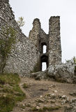 Ruïne van gotisch kasteel Stock Fotografie