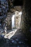 Ruïne van historisch kasteel Stock Foto