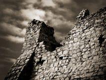 Ruïne van kasteel Stock Fotografie