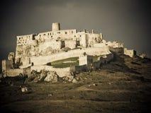 Ruïne van kasteel Royalty-vrije Stock Foto's