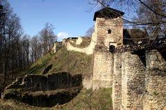 Ruïne van kasteel Royalty-vrije Stock Afbeeldingen