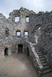 Ruïne van kasteel Hrusov Royalty-vrije Stock Foto