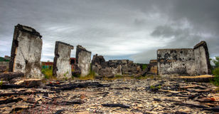 ruïnes Stock Afbeelding