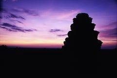 Ruïnes Angkor Wat, Kambodja Royalty-vrije Stock Afbeelding