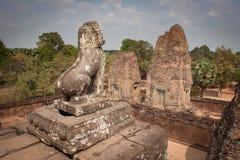 Ruïnes, Angkor Wat, Kambodja Royalty-vrije Stock Foto's