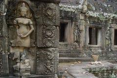 Ruïnes Angor Wat Royalty-vrije Stock Afbeeldingen