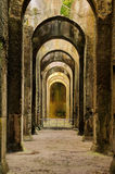 Ruïnes, archeologie, mirabilis, bacoli, Italië Stock Afbeeldingen