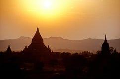 Ruïnes Bagan, Myanmar (Birma) royalty-vrije stock foto