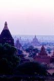 Ruïnes Bagan, Myanmar (Birma) royalty-vrije stock afbeelding