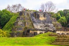 Ruïnes in Belize royalty-vrije stock fotografie