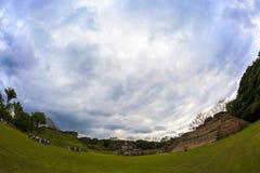 Ruïnes in Belize stock foto's