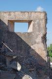 Ruïnes bij pulocemeti, taman het waterkasteel van Sari - de koninklijke tuin van sultanaat van Jogjakarta Royalty-vrije Stock Foto's