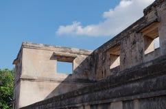 Ruïnes bij pulocemeti, taman het waterkasteel van Sari - de koninklijke tuin van sultanaat van Jogjakarta Royalty-vrije Stock Afbeelding