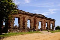 Ruïnes door het Zand Stock Afbeeldingen