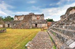 Ruïnes ek-Balam Stock Foto's