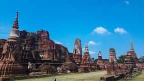 Ruïnes en oude tempels royalty-vrije stock foto