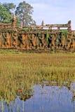 Ruïnes Kambodja stock foto's