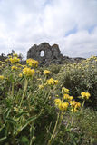 Ruïnes in Kithira Eiland, Griekenland Stock Fotografie
