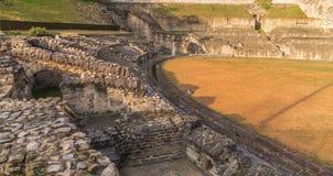 Ruïnes in Lyon royalty-vrije stock foto