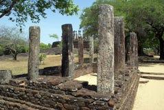 Ruïnes in Medirigiriya Stock Foto