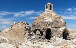 Ruïnes op Bak - Boukhara stock afbeeldingen