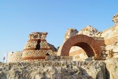Ruïnes oude stad stock fotografie