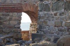 Ruïnes oude stad royalty-vrije stock foto