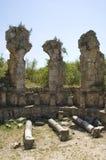 Ruïnes in Perga royalty-vrije stock afbeelding