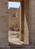 Ruïnes in Qasr Dusch Stock Afbeelding