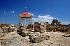 Ruïnes in Sebastopol stock fotografie