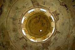 Ruïnes van één verlaten orthodoxe kerk Royalty-vrije Stock Fotografie