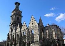 Ruïnes van Aegidienkirche-Kerk van Hanover Royalty-vrije Stock Foto's