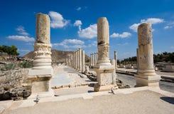 Ruïnes van Beit She ' Royalty-vrije Stock Foto