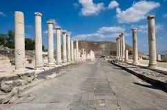 Ruïnes van Beit She ' Royalty-vrije Stock Afbeelding