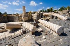 Ruïnes van Beit She ' Royalty-vrije Stock Afbeeldingen