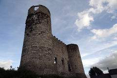 Ruïnes van Carlow-Kasteel Stock Foto