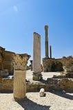 Ruïnes van Carthago Royalty-vrije Stock Foto's