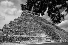 Ruïnes van Chichen Itza Stock Foto