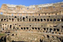 Ruïnes van Colosseum, Rome, Italië Royalty-vrije Stock Afbeeldingen