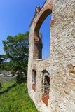 Ruïnes van de 15de eeuw middeleeuws kasteel, Tenczyn-Kasteel, het Poolse Juragebergte, Polen royalty-vrije stock afbeelding