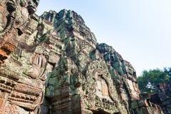Ruïnes van de 12de Eeuw van Preah Khan Temple in Angkor Wat Siem Reap, Kambodja royalty-vrije stock afbeeldingen