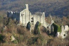Ruïnes van de kerk Royalty-vrije Stock Afbeeldingen