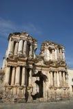 Ruïnes van de kerk van de Trambestuurders van Iglesia DE Gr Stock Afbeeldingen