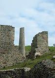 Ruïnes van de mijnbouw Van Cornwall Royalty-vrije Stock Foto